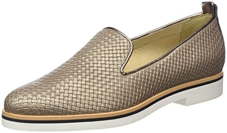 Geox Janalee Marron - Chaussures Mocassins Femme