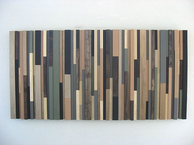 Abstract wood art earthy stripes also wooden wall  straight arrow rh pinterest