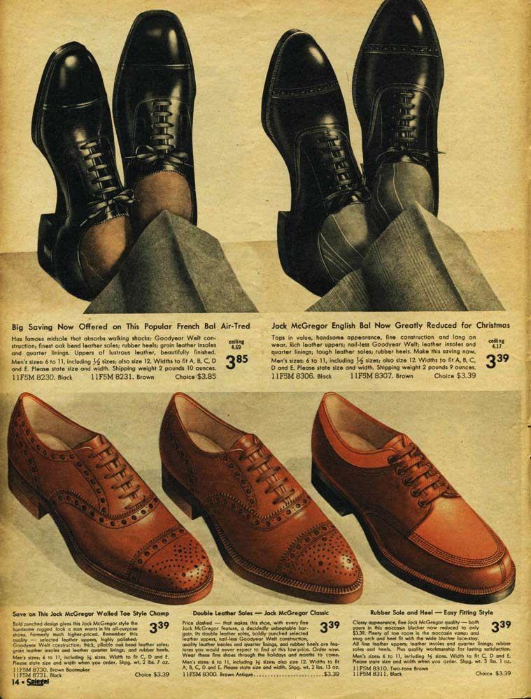 1940s Fashion For Men Boys Retrowaste Dress Shoes Men Vintage Clothing Men 1940s Mens Fashion