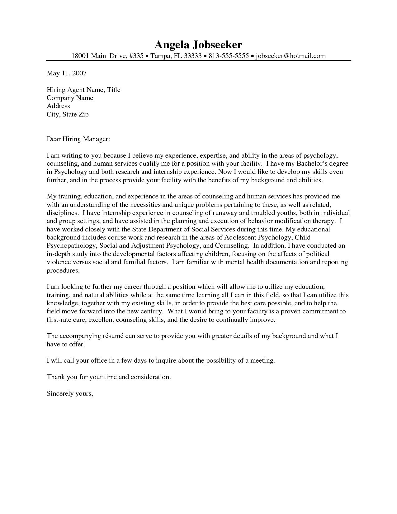 Pin by Waldwert Site on Resume Formats | Cover letter sample, Cover ...