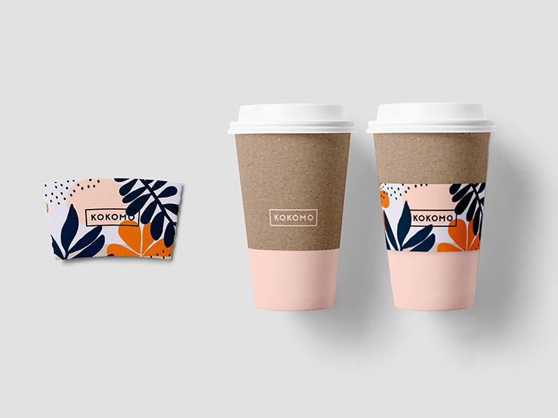 Kokomo Paper Cup Design Coffee Cup Design Coffee Cup Sleeves