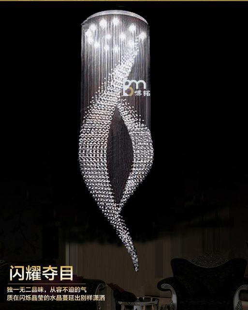 new design large modern chandeliers crystal lighting fixtures luxury