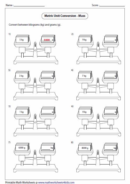 Metric Unit Conversion Worksheets Capacity Worksheets Ks3 Maths Worksheets Worksheets
