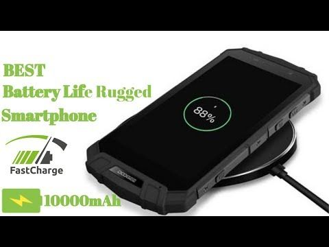 Top 5 Best Rugged Smartphone With Highest Battery In 2018 - YouTube