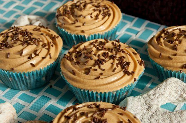 Cupcakes de chocolate con buttercream de dulce de leche
