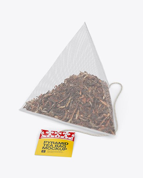 Download Pyramid Tea Bag Mockup Halfside View In Bag Sack Mockups On Yellow Images Object Mockups Mockup Free Psd Bag Mockup Free Psd Mockups Templates