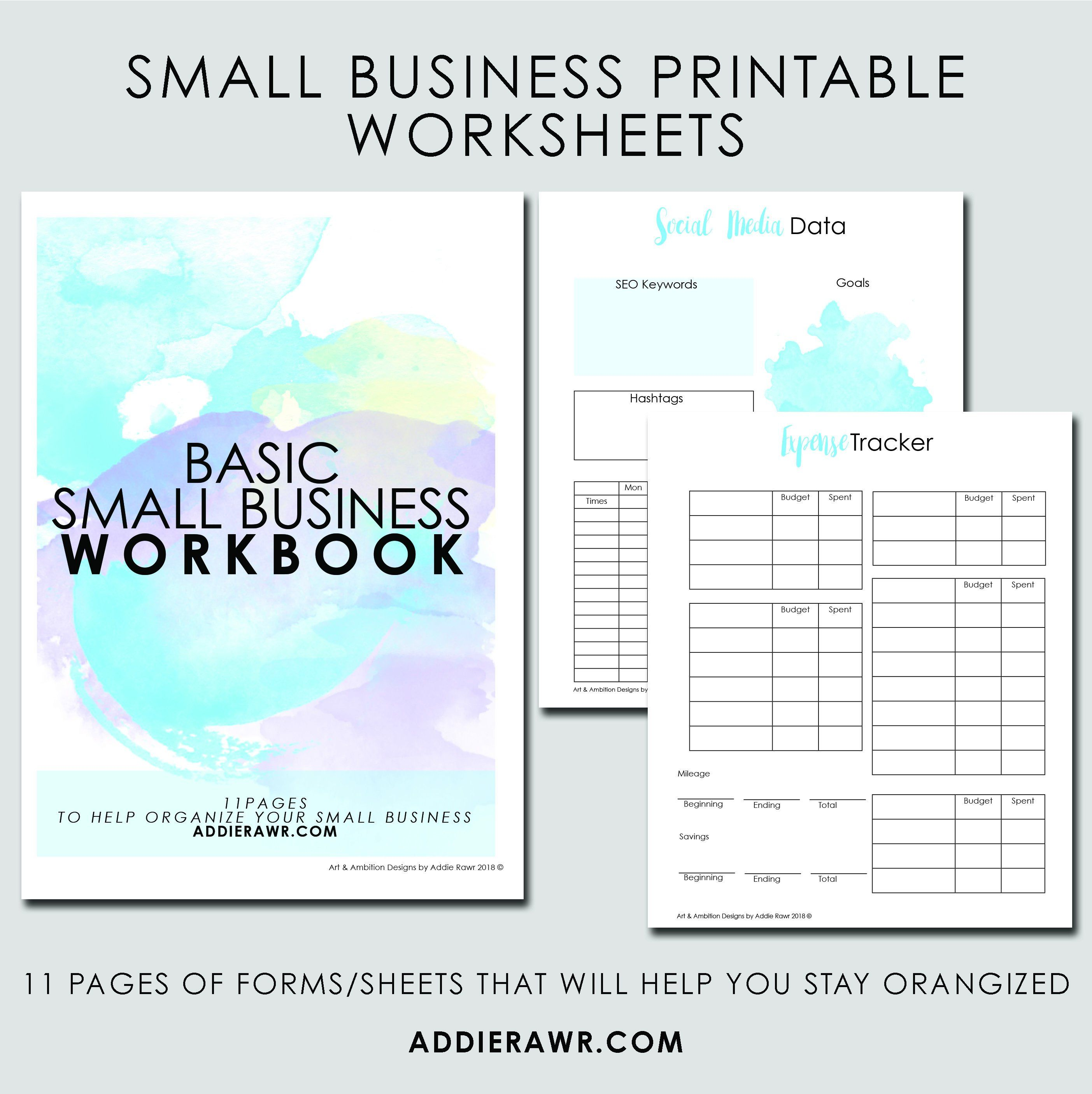 Small Business Workbook Download Amp Printable By
