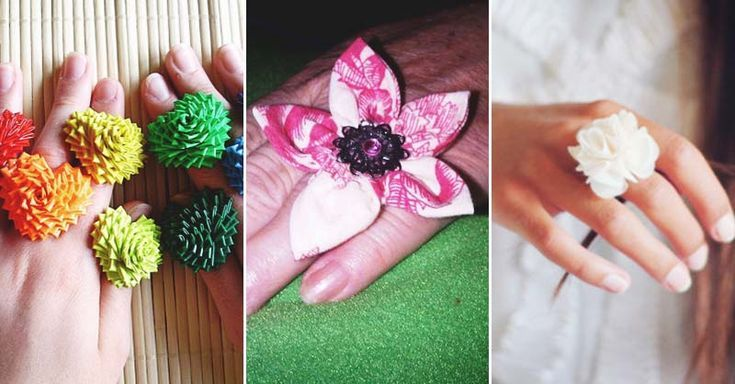Make a fabulous flower ring in less than 10 minutes Awesome | Make a fabulous flower ring in less than 10 minutes -