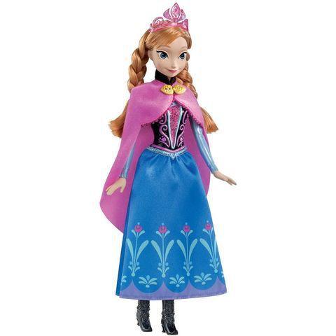 Poupee Anna Scintillante Reine Des Neiges Disney Princesses Marque Mattel Poupee Anna Scintillante Reine Des Poupees Disney Disney Poupee Princesse Disney