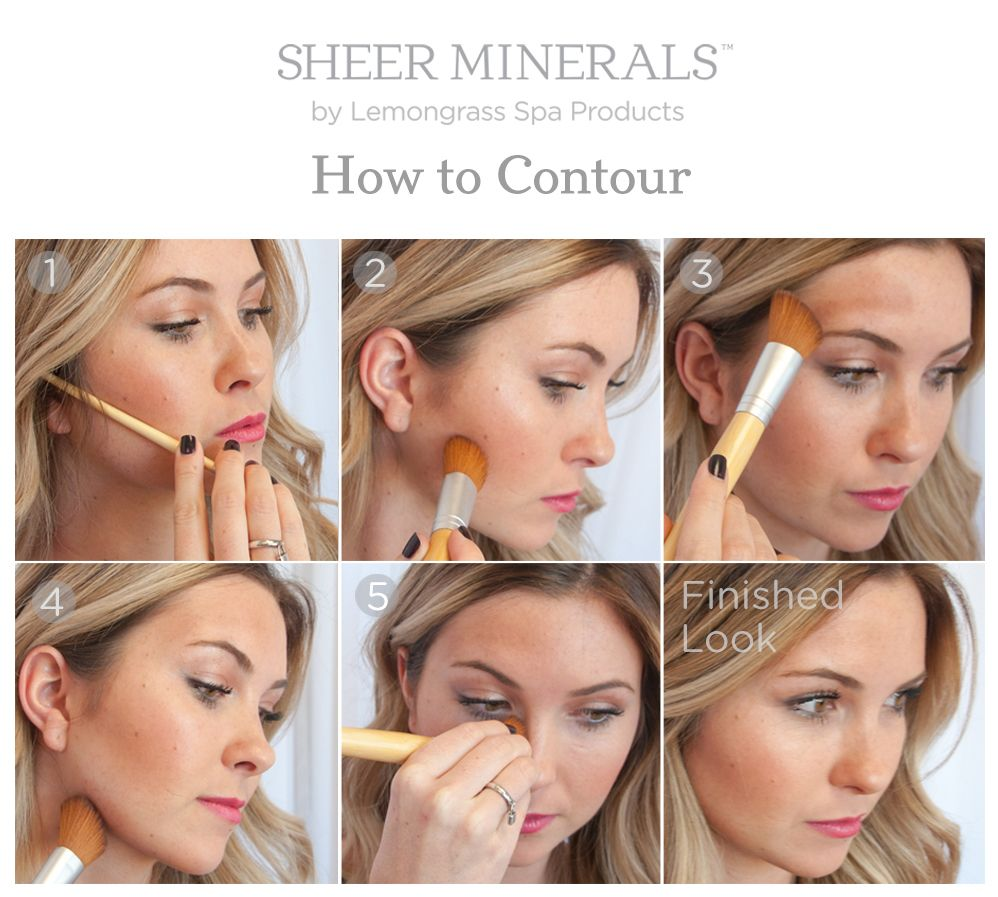 How To Contour with Mineral Makeup in 2020 Lemongrass
