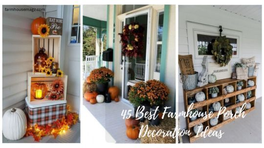45 Best Farmhouse Porch Decoration Ideas #falldecorideasfortheporchoutdoorspaces 45 Best Farmhouse Porch Decoration Ideas: All-weather wicker may give your farmhouse porch a genuine country feel. Better still, several of these outdoor spaces arrive equipped with world-class views. Being in a farmhouse also usually means that I have to become creative with storage. #falldecorideasfortheporchoutdoorspaces 45 Best Farmhouse Porch Decoration Ideas #falldecorideasfortheporchoutdoorspaces 45 Best Farm #falldecorideasfortheporchoutdoorspaces