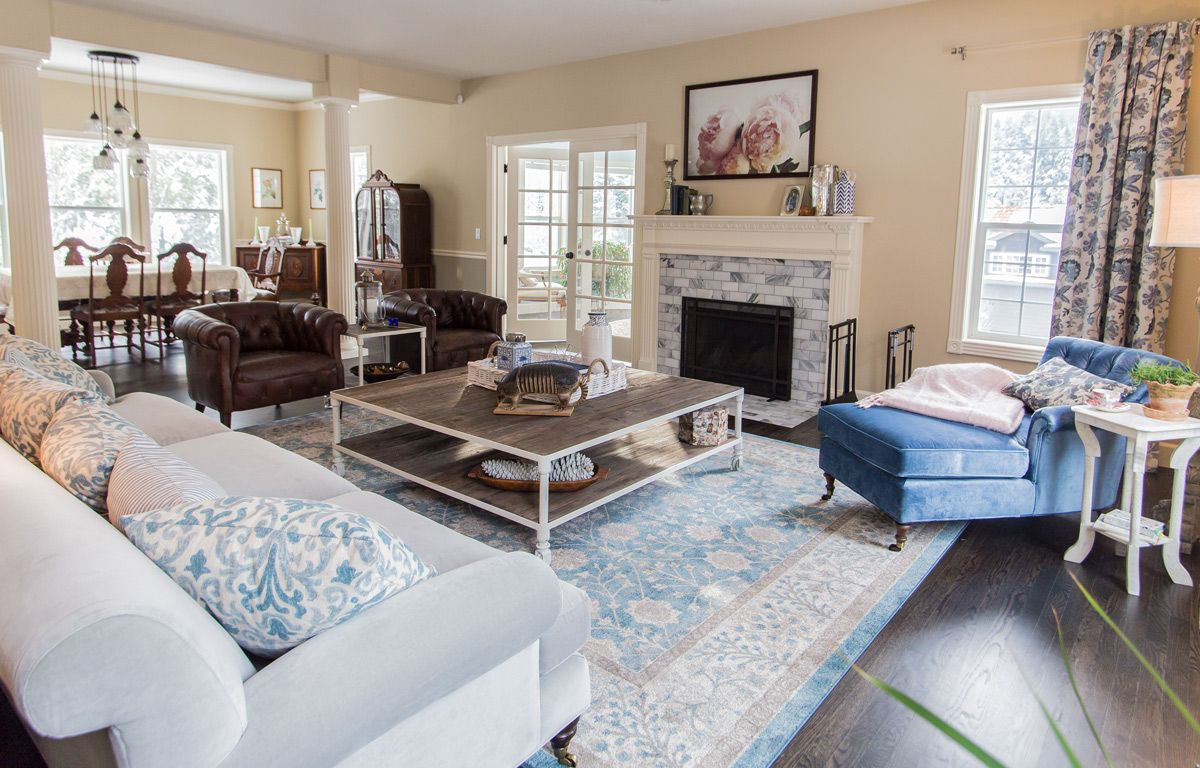Traditional Living Room for Young Family – Joanna Panter Design