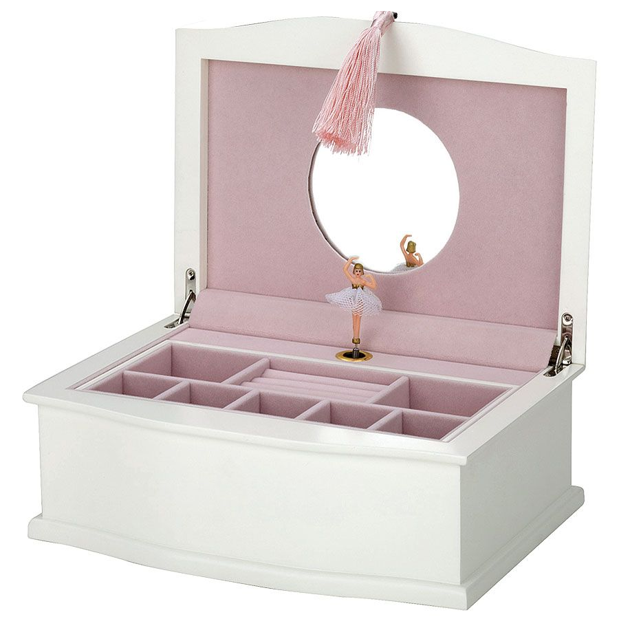 Muscial Jewelry box with spinning ballerina I had one only smaller