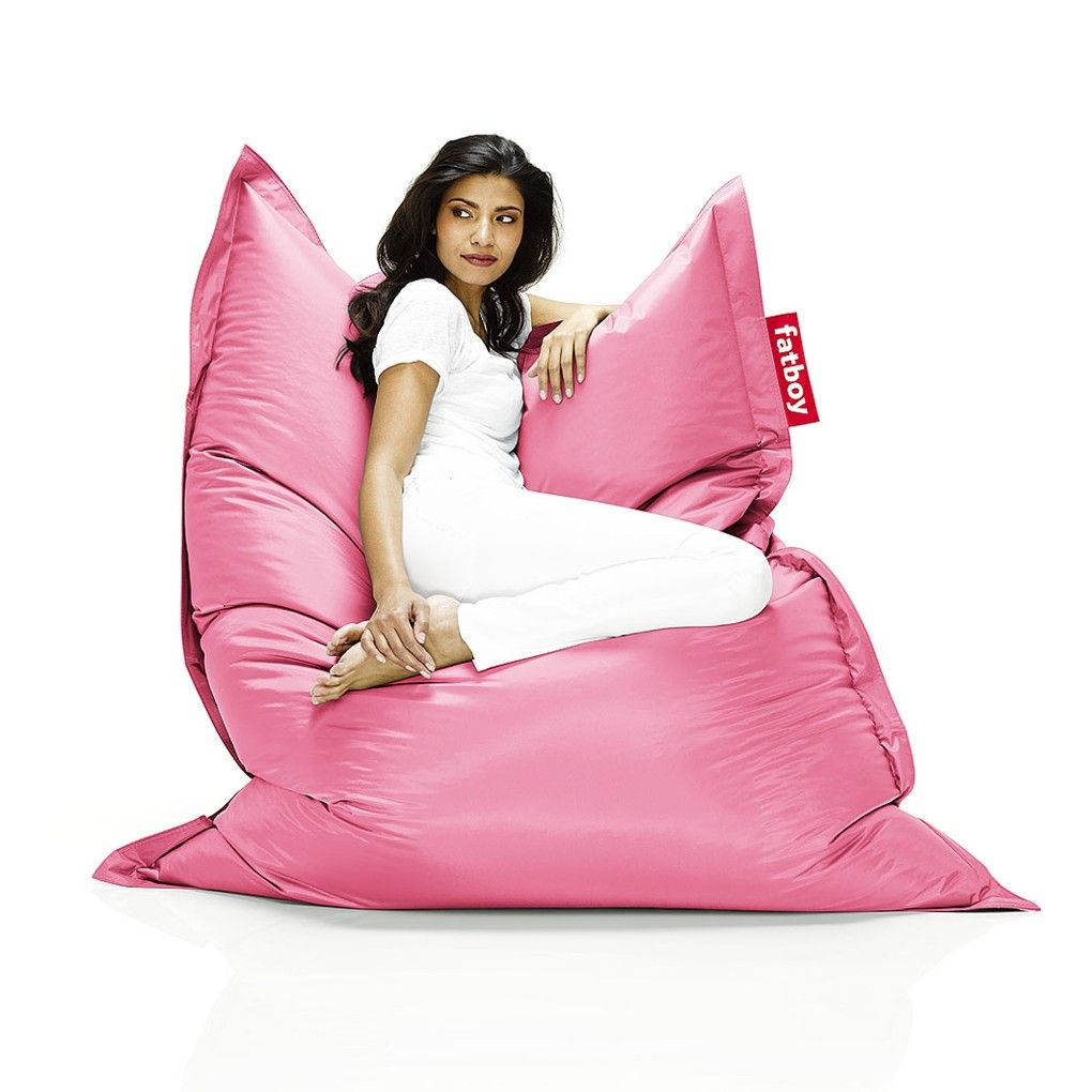 Fatboy Zitzak Xl.Fatboy Bean Bag The Original Light Pink Stol Design Stolar