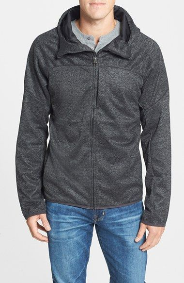 Burton 'Mountain Chill' Hooded Water Repellant Dryride Softshell™ Jacket