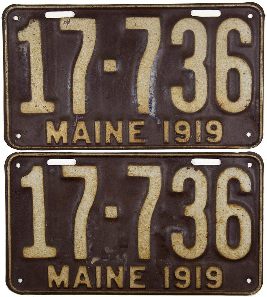 Pin on License Plates of the 50 States