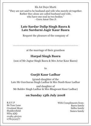 Sikh wedding invitation wordingssikh wedding wordingssikh wedding sikh wedding invitation wordingssikh wedding wordingssikh wedding card wordings filmwisefo Choice Image