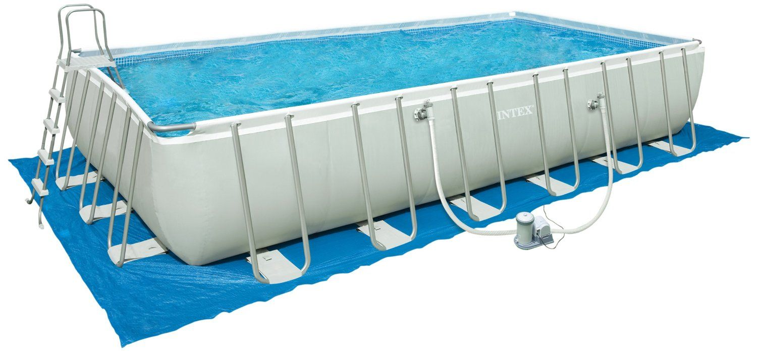 Sand Im Pool Von Sandfilteranlage Intex Ultra Frame Pools New Technology Legacy Portable