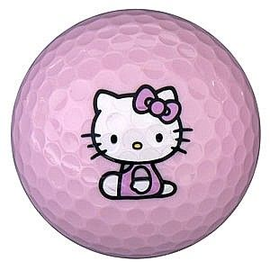 Hello Kitty The Collection Golf Ball - 6 Balls from Olympic Golf Store in enewmall.com http://enewmall.com/golf/