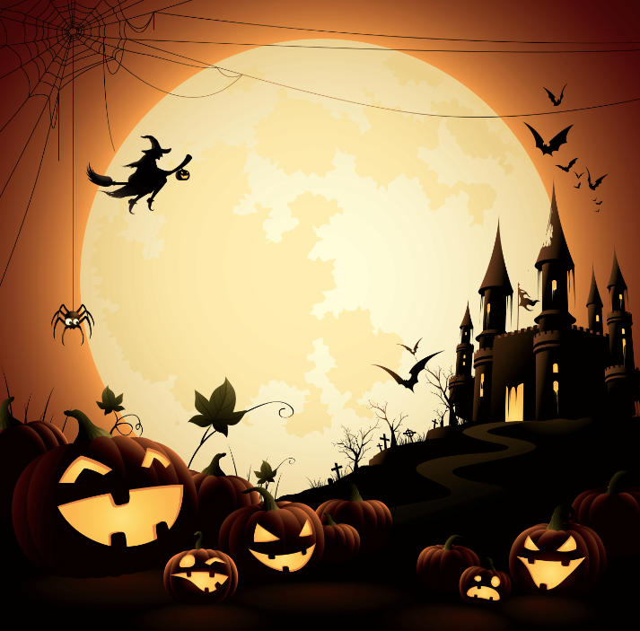 Halloween Backgrounds Available For Your Next Event Vippartypro