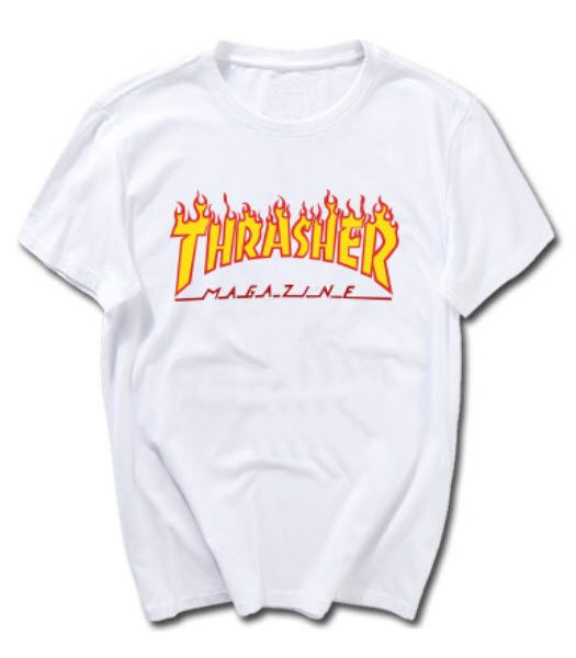 T Shirt Trasher T Shirts Tanks Women Ropa Holgada Bershka Ropa Sudaderas De Moda
