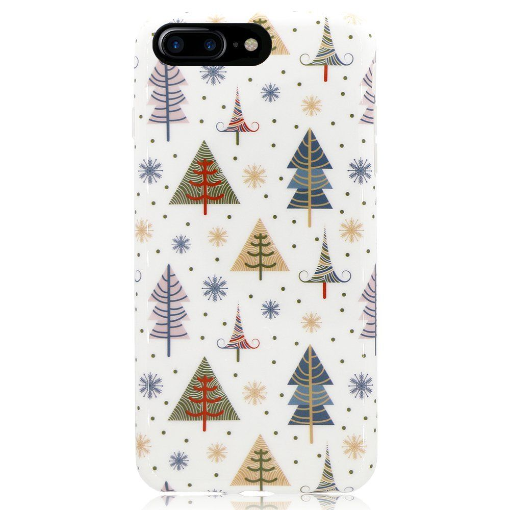 SwiftBox Merry Christmas Case for iPhone 8 Plus and iPhone 7 Plus ...
