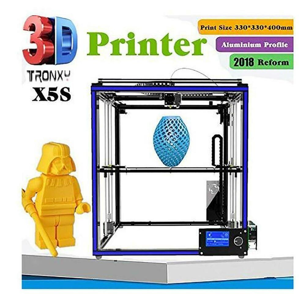eBay #Sponsored Tronxy X5SA/XY-3 Large 3D Printer Double Z Axis