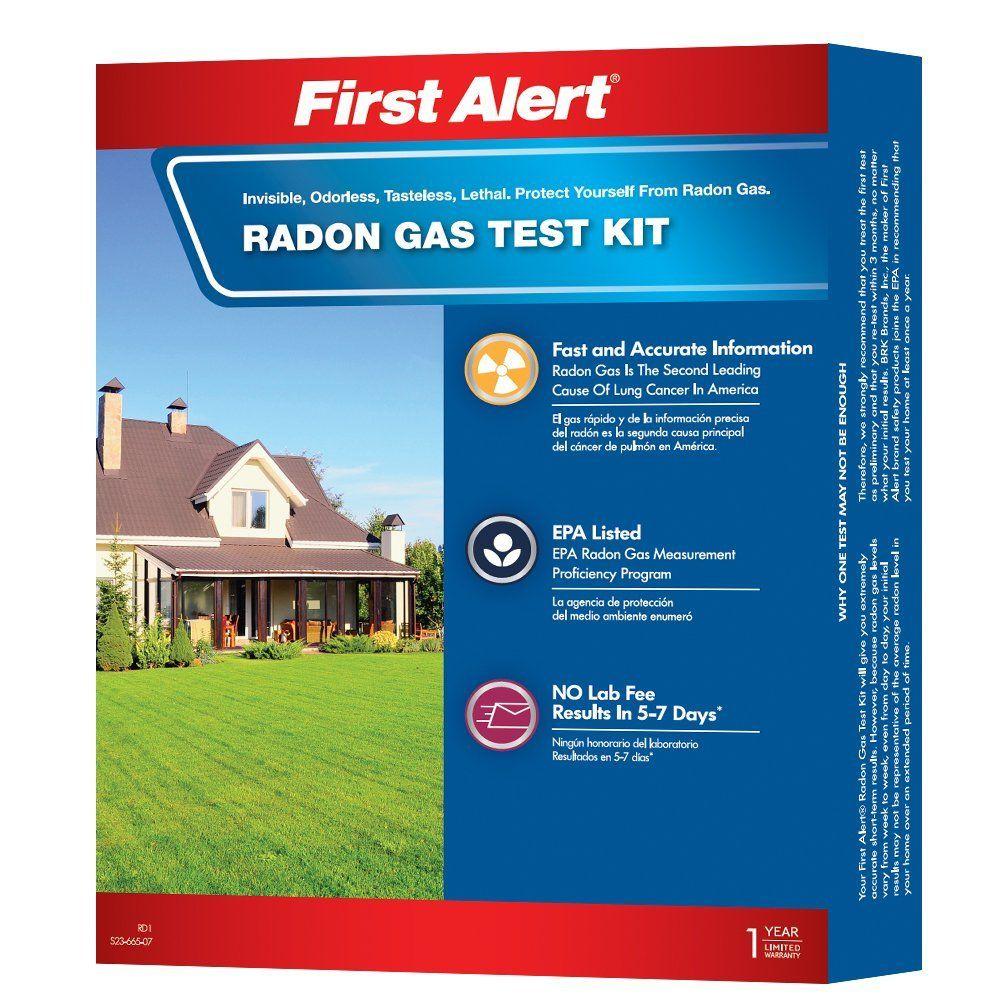 First Alert RD1 Radon Gas Test Kit Reviews 2018 Amazon
