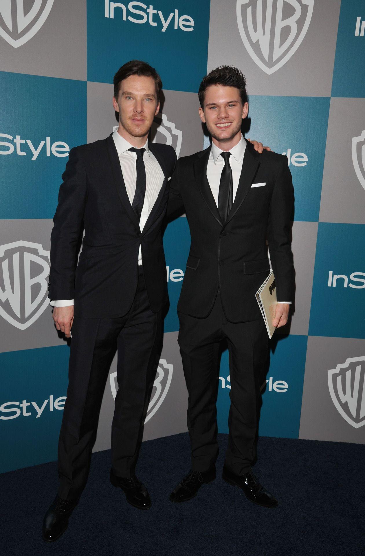 Benedict Cumberbatch and Jeremy Irvine