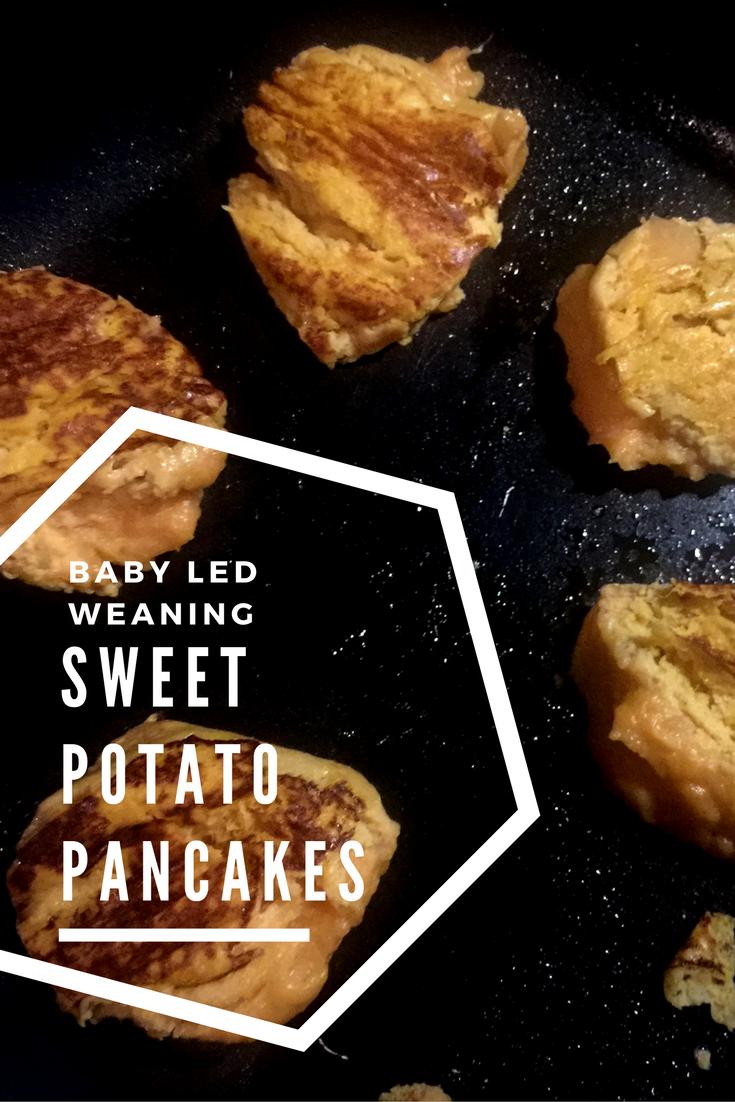 Sweet Potato Pancake Recipe Baby Led Weaning BLW