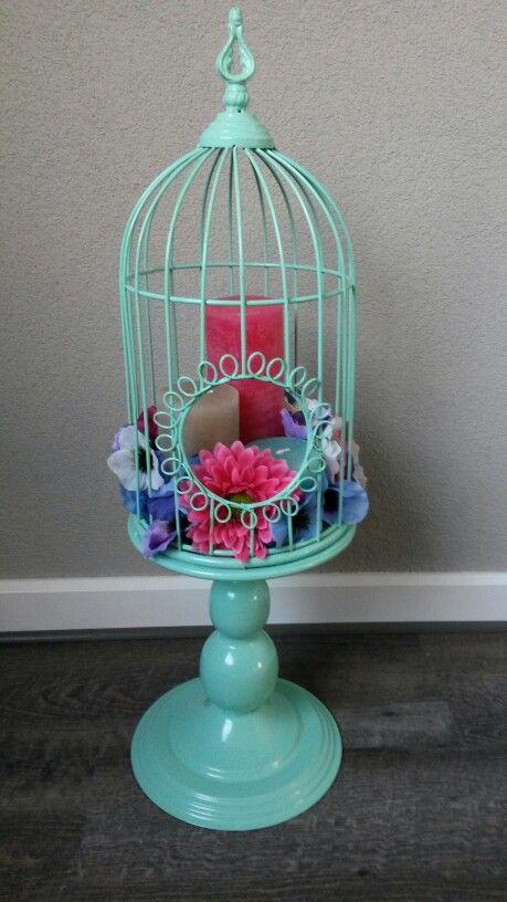 Decoratie vogelkooi tuin pinterest creative for Vogelkooi decoratie
