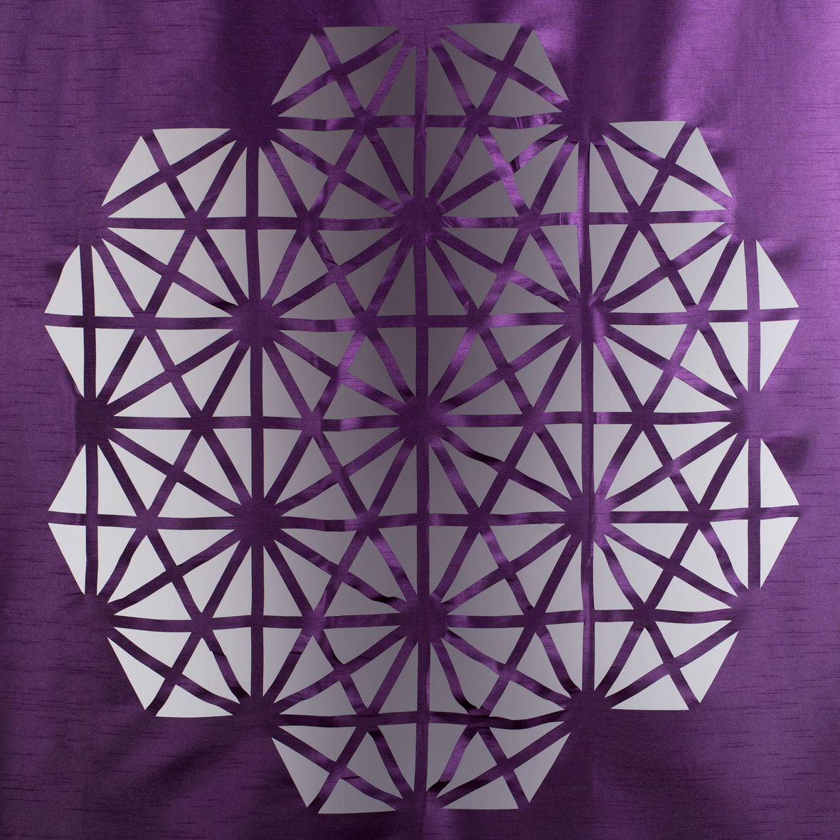 New Diamant Laser Cut Curtain By Madura