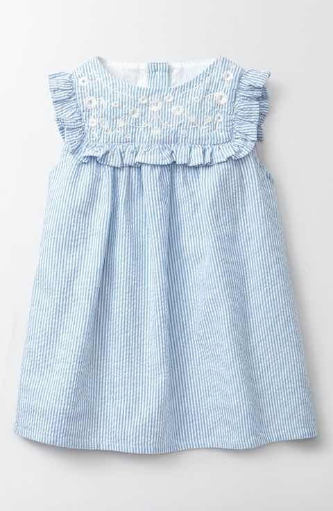da2cb4790076c Mini Boden Embroidered Ruffle Dress (Baby Girls & Toddler Girls ...