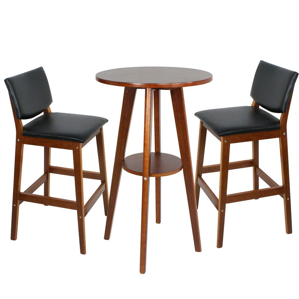 bistro kitchen table Details about Table 2 Bar Stools Bistro Dining Set Kitchen Furniture Pub Home Restaurant