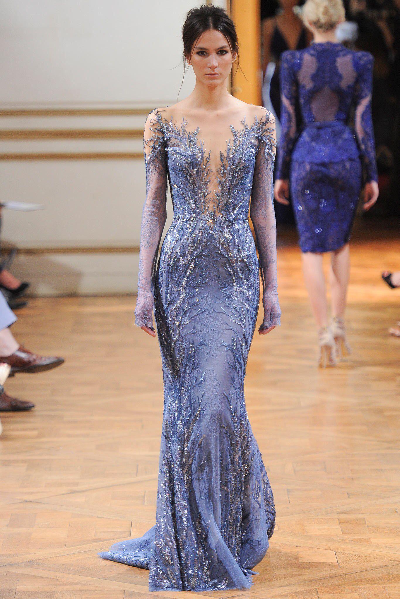 Zuhair Murad Fall 2013 Couture Fashion Show | Gowns ...