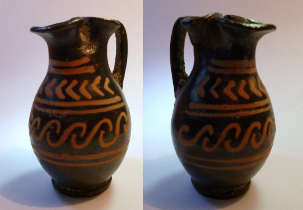 Greek pottery patterns google search ancient history for Pottery patterns