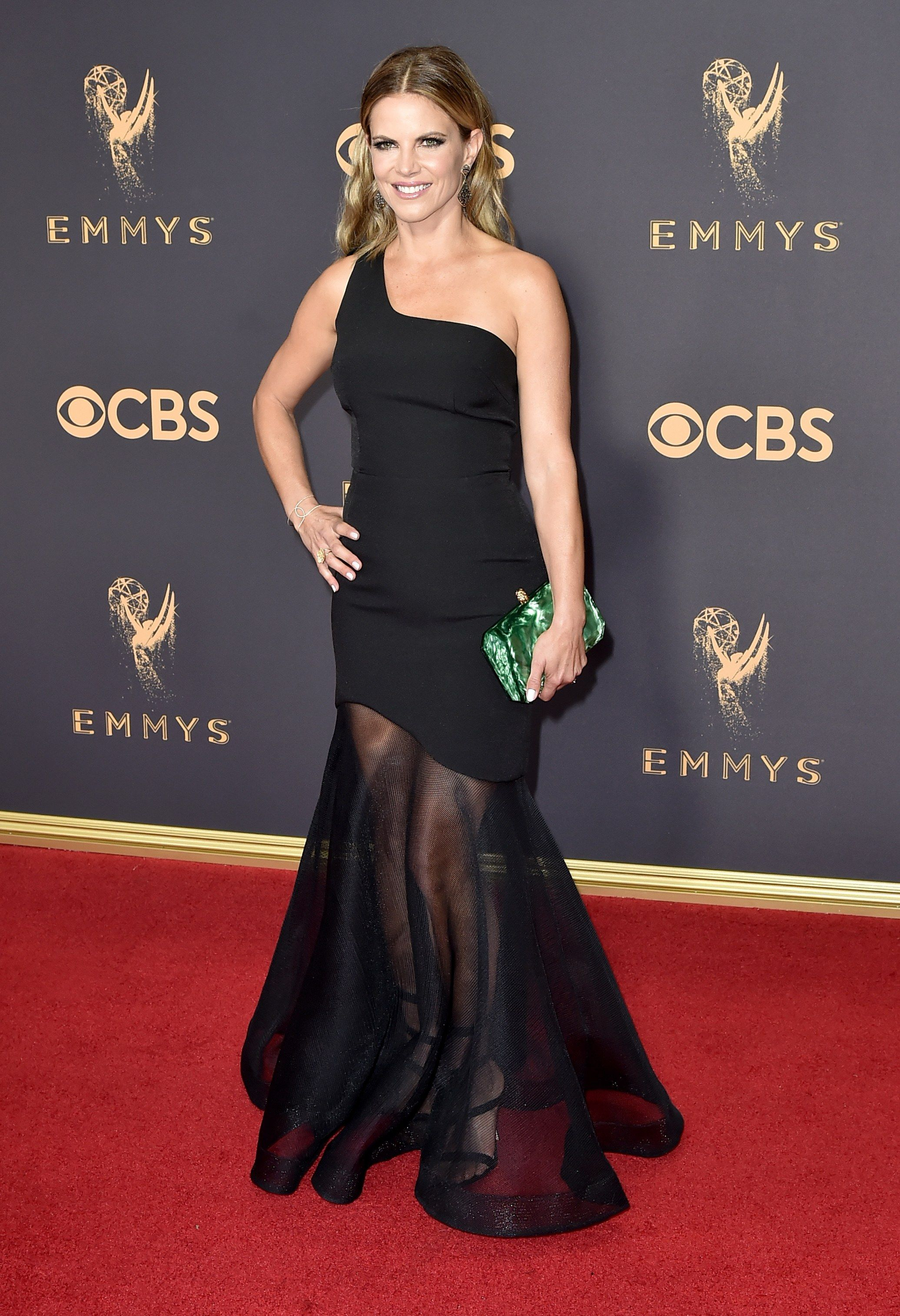 Emmy Awards 2017 Fashion Live From The Red Carpet Celebrity Black Dress Red Carpet Dresses Red Carpet Fashion [ 3029 x 2071 Pixel ]