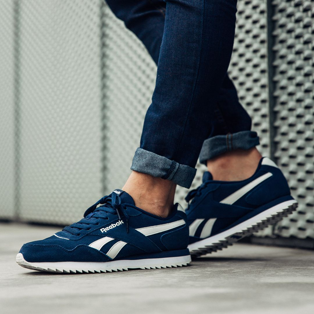 e87c2322add124 Glide through the streets with a touch a Royalty with the Reebok Royal Glide  Ripple Suede