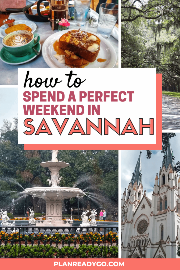 A Delightful Weekend In Savannah Itinerary Savannah Chat Savannah Georgia Vacation Georgia Vacation
