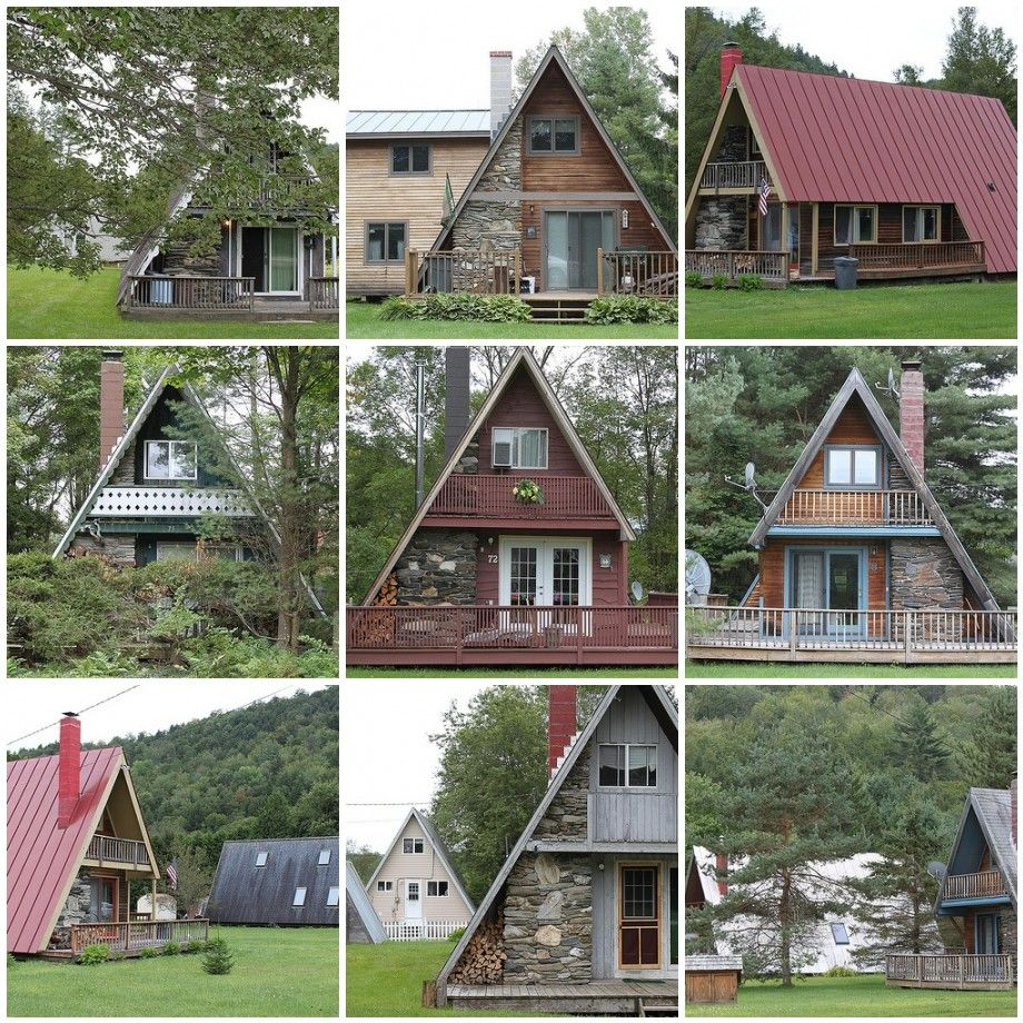 Metal Framed Homes A Frame Houses Are Too Cute Google Search Metal Roof And Google