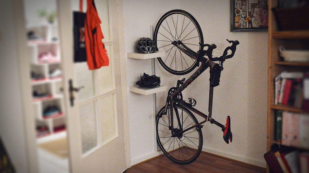 Fahrrad Wandhalterung Zum Selberbauen Sport Pinterest Fahrrad