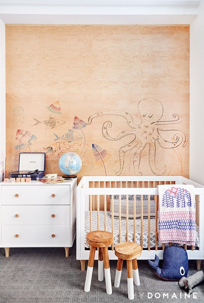 Exclusive: Inside Rebecca Minkoff's Elevated Family Home in NYC via @MyDomaine
