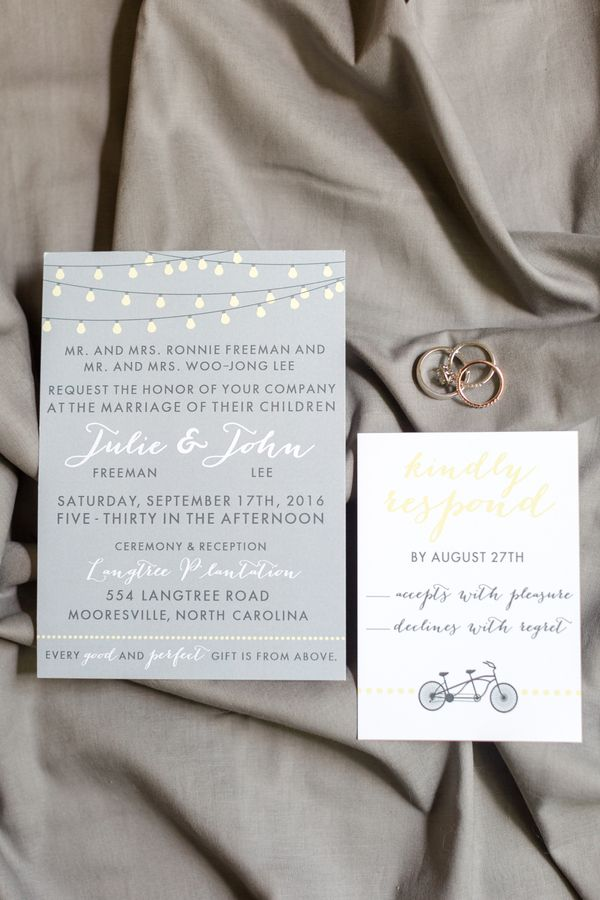What A Gorgeous Invitation Suite Charlotte Wedding Vendors Nc
