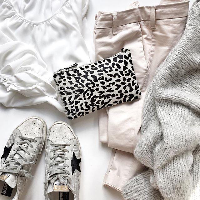 pale pink & grey