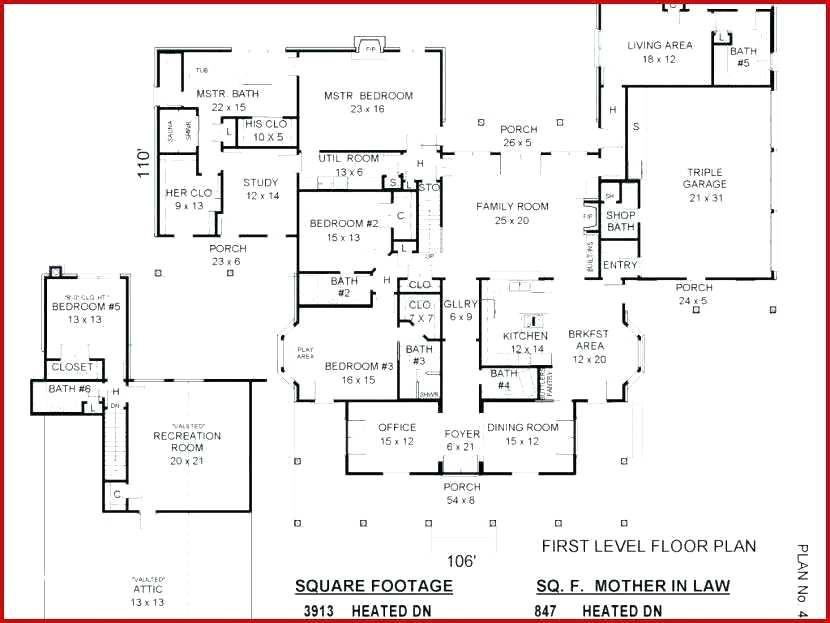 House Plans With Inlaw Apartments House Plans With Apartment Separate Entrance Admirable House Plans With Apar House Plans Colonial House Plans New House Plans