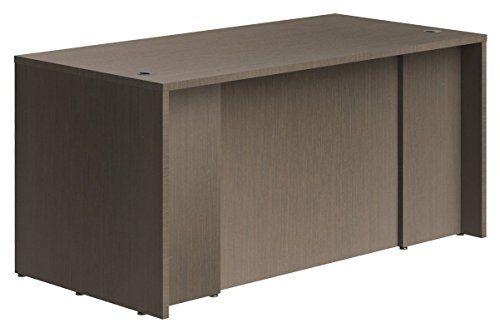 OfisLite Desk Model 2051 Complete Desk, Espresso