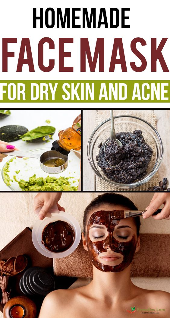 Homemade Face Mask for Dry Skin and Acne Homemade face
