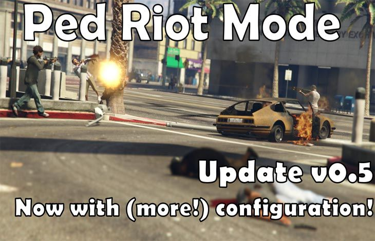 The riots really start in GTA V with this PC mod  More chaos