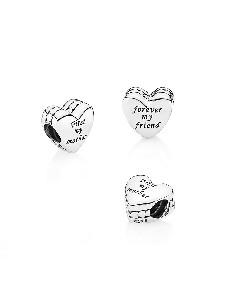 c097ba037 Present the most important person in your life with this meaningful  sterling silver heart charm,