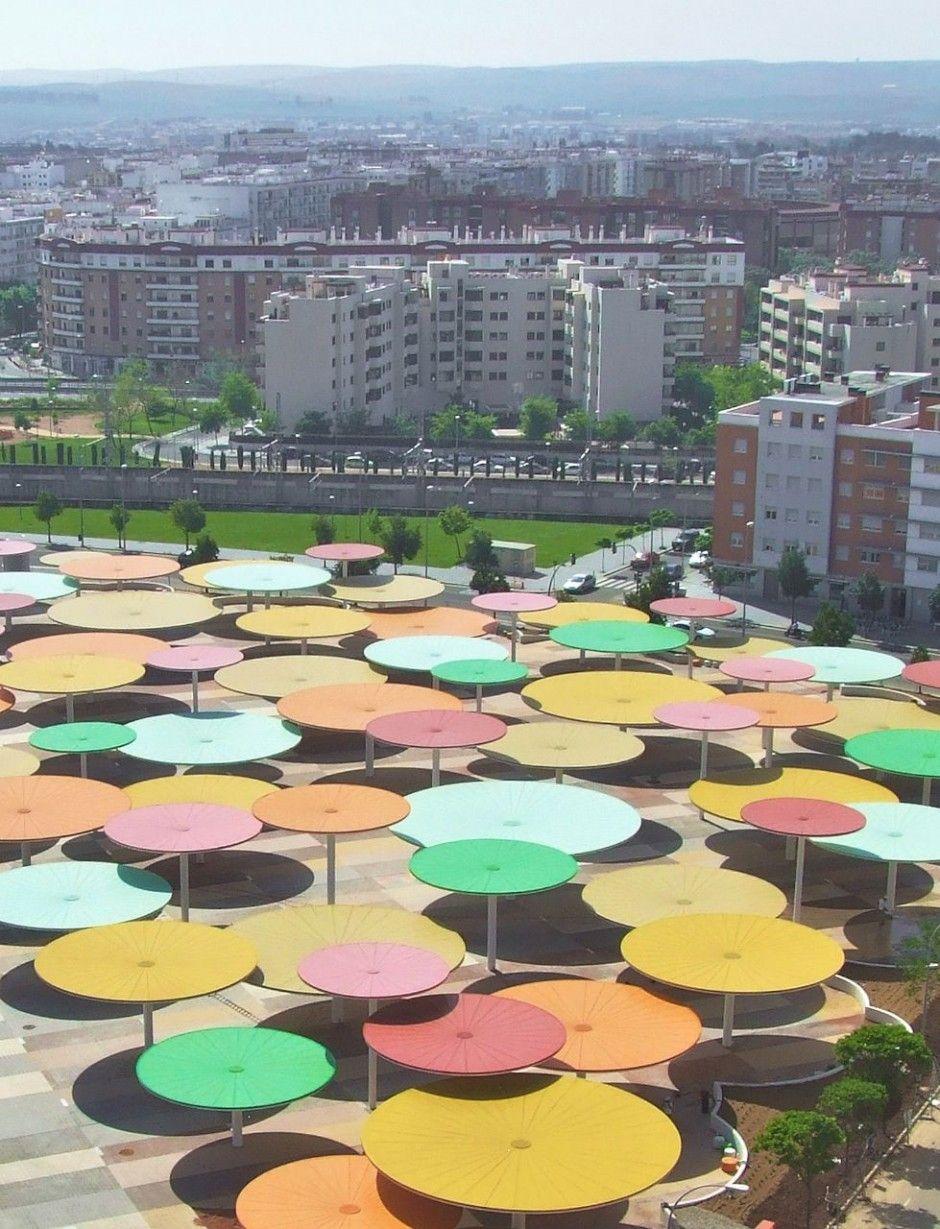 They Look Like Giant Nekko Wafers Architecture Art Patio Umbrella Landscape